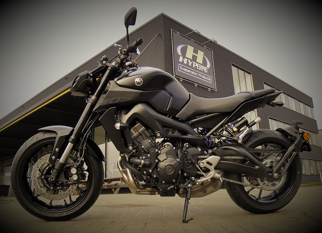 yamaha mt 09 2017 hyperpro. Black Bedroom Furniture Sets. Home Design Ideas